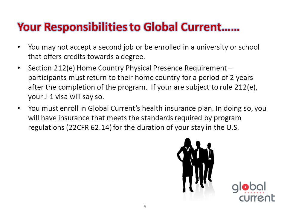 Your Responsibilities to Global Current……