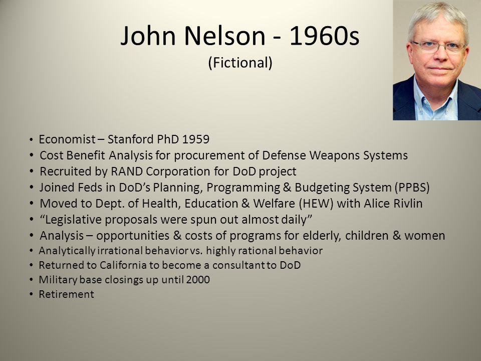 John Nelson - 1960s (Fictional)