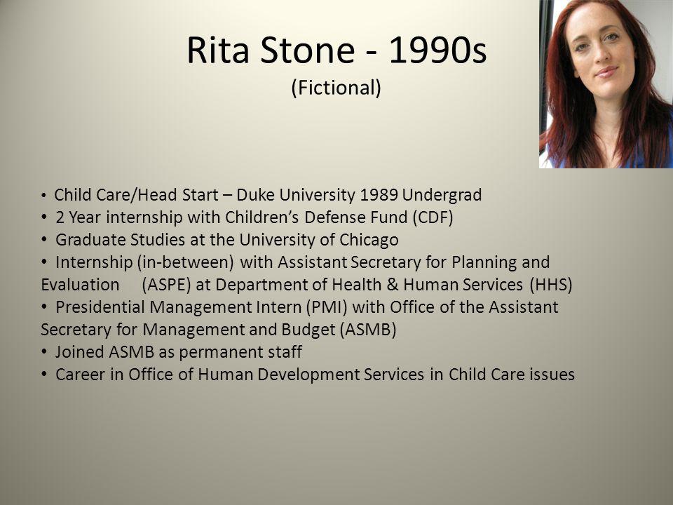Rita Stone - 1990s (Fictional)