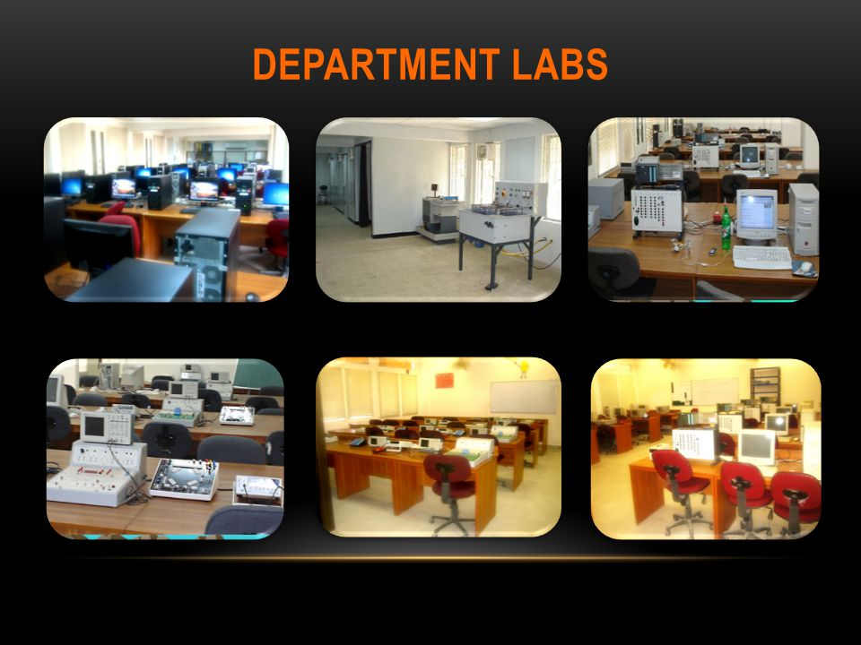 Department labs