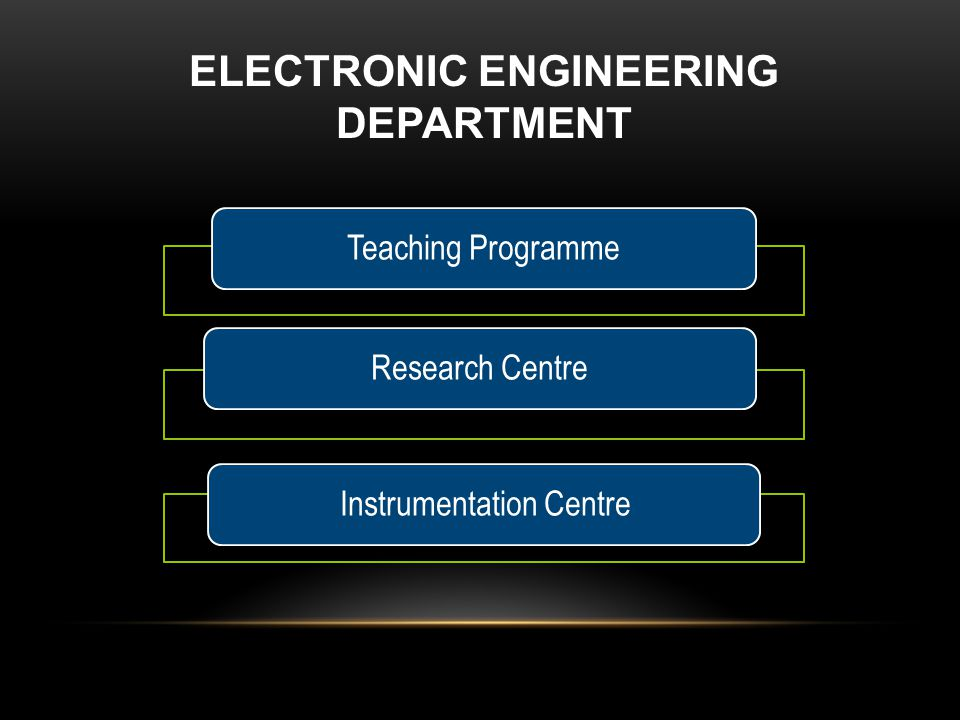 Electronic Engineering Department