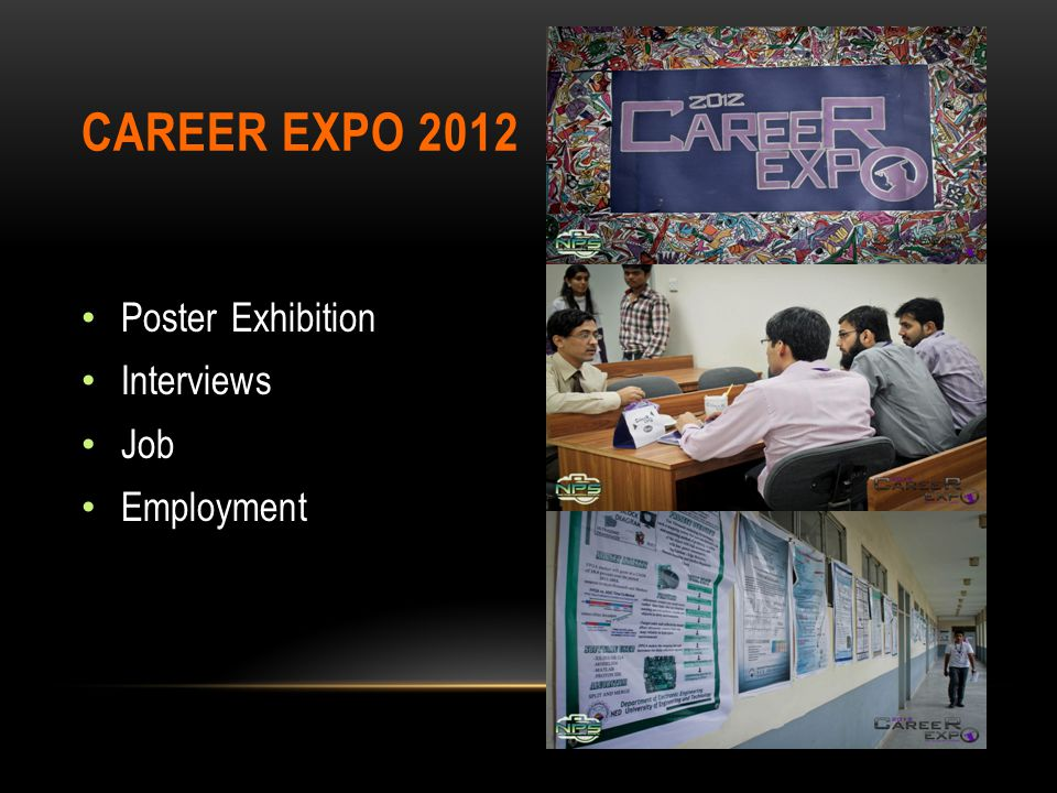 Career EXPO 2012 Poster Exhibition Interviews Job Employment