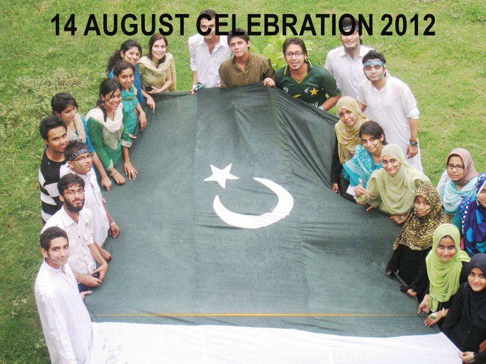 14 august celebration 2012 4/13/2017