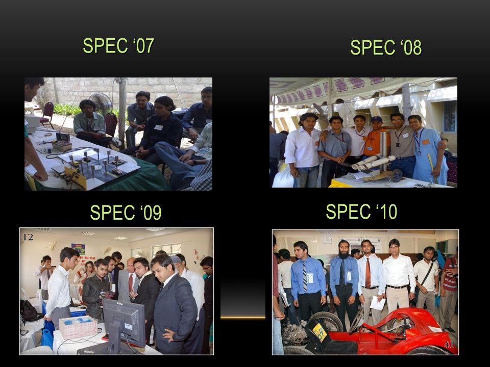 SPEC '07 SPEC '08 SPEC '09 SPEC '10