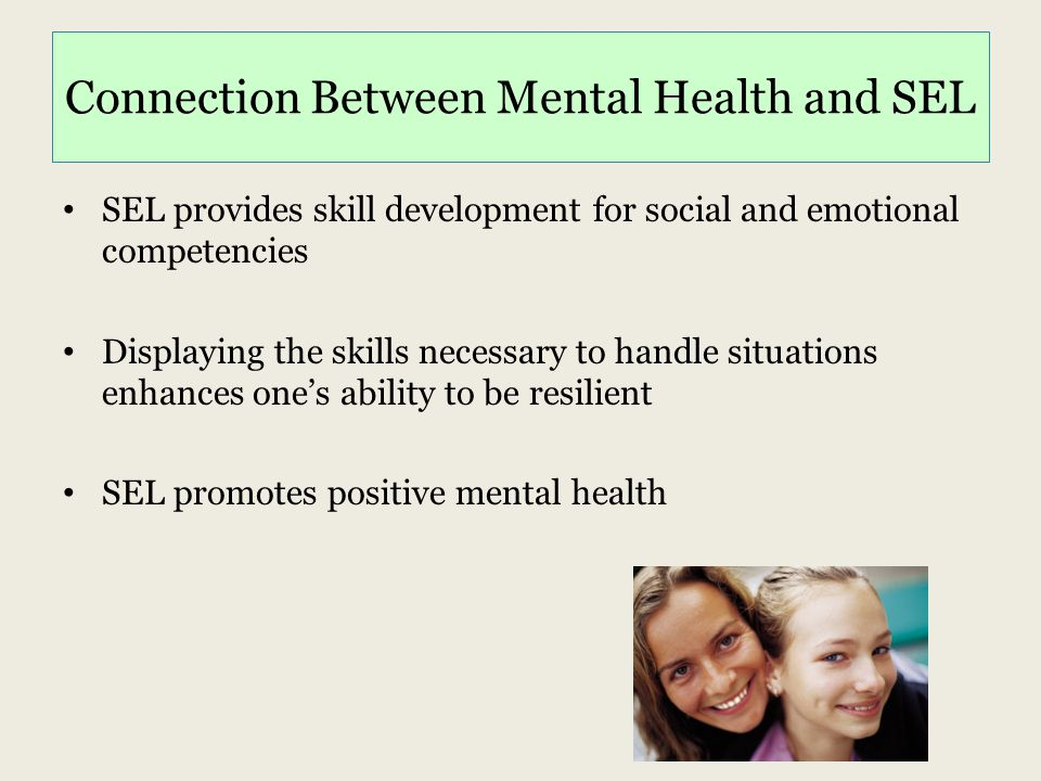 Connection Between Mental Health and SEL