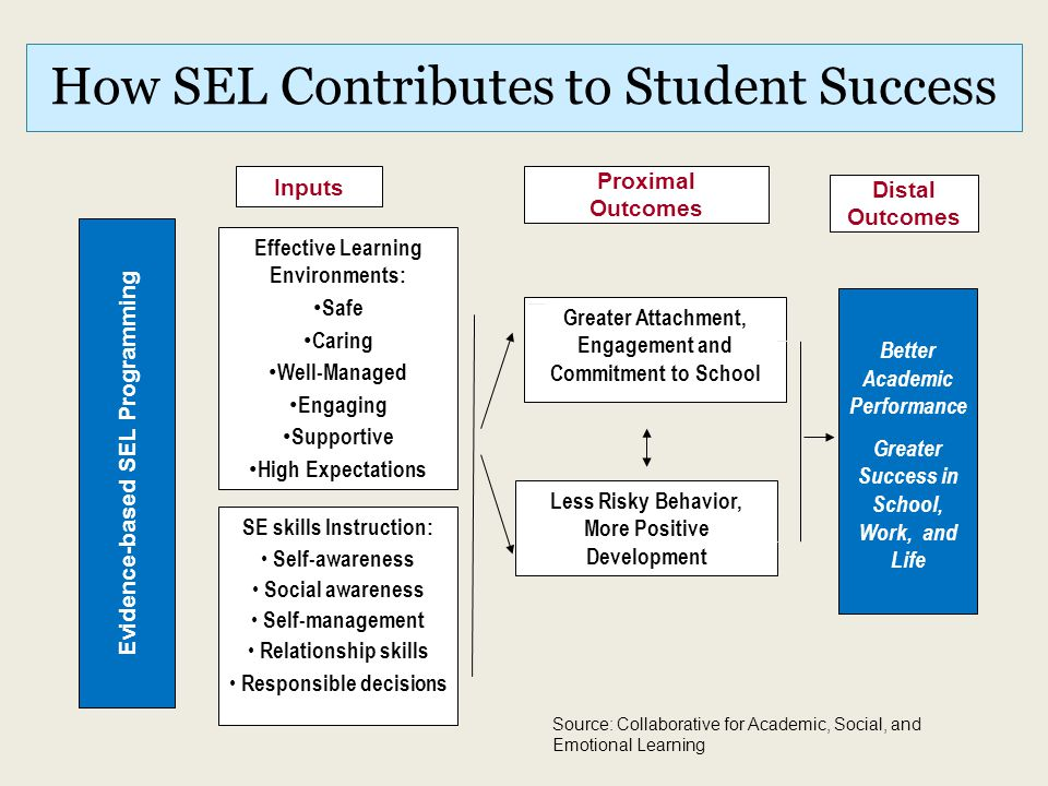 How SEL Contributes to Student Success