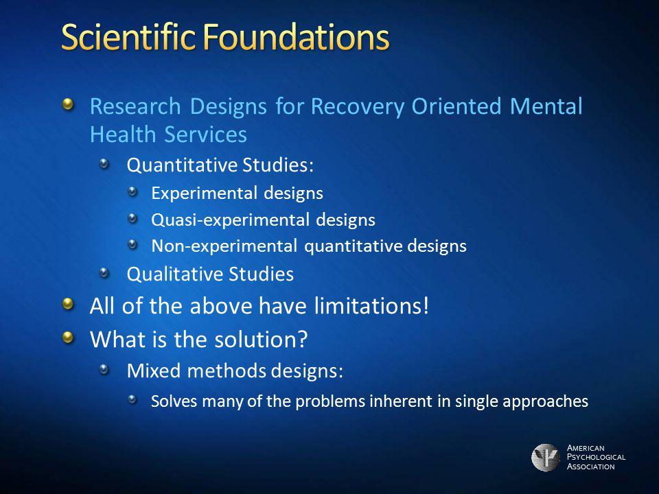 Scientific Foundations