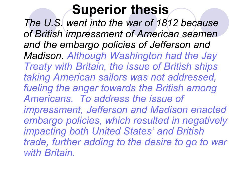 Superior thesis