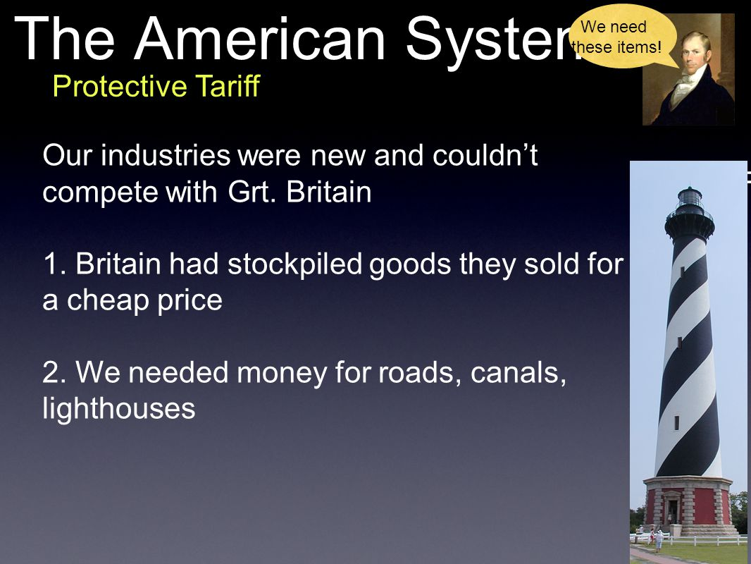 The American System Protective Tariff