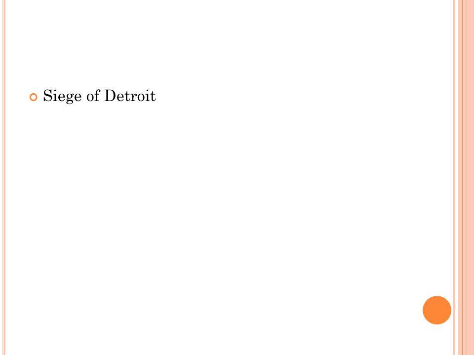 Siege of Detroit