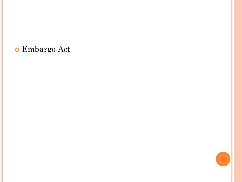 Embargo Act