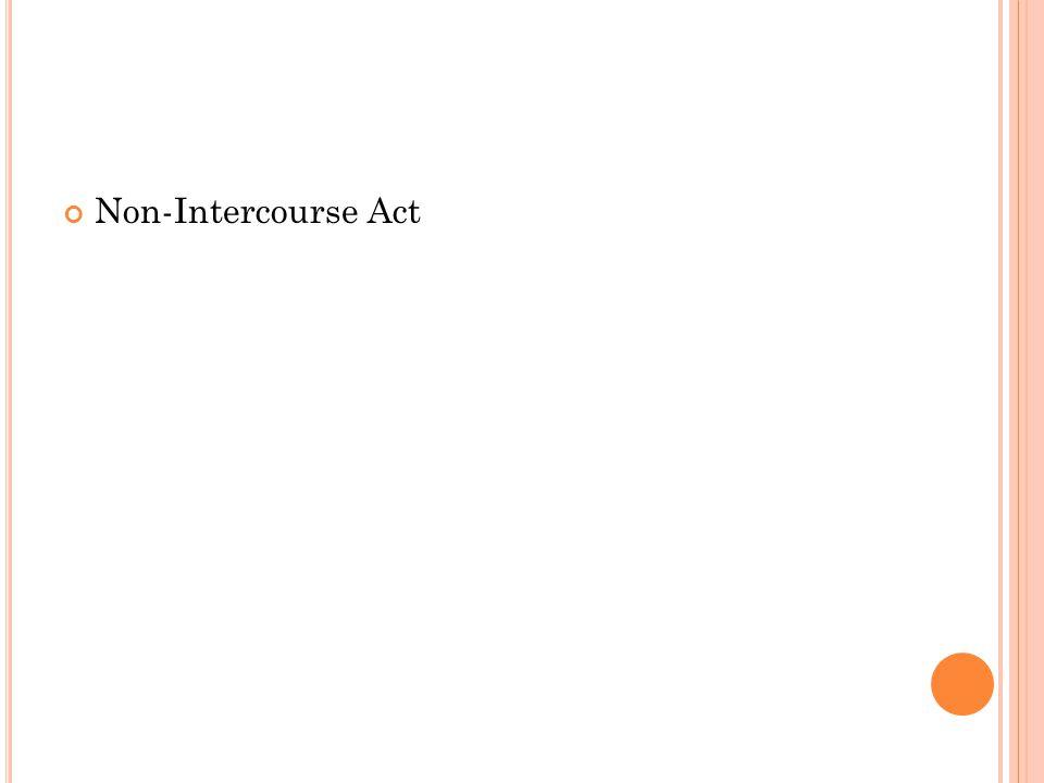 Non-Intercourse Act