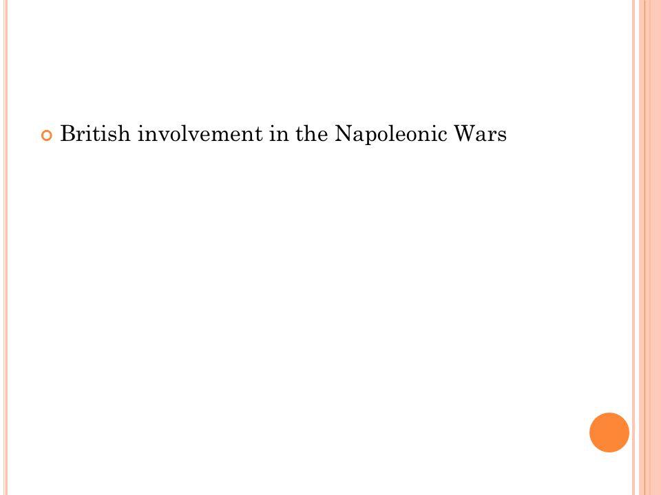 British involvement in the Napoleonic Wars