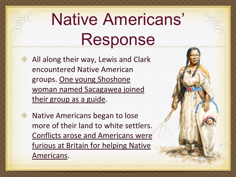 Native Americans' Response