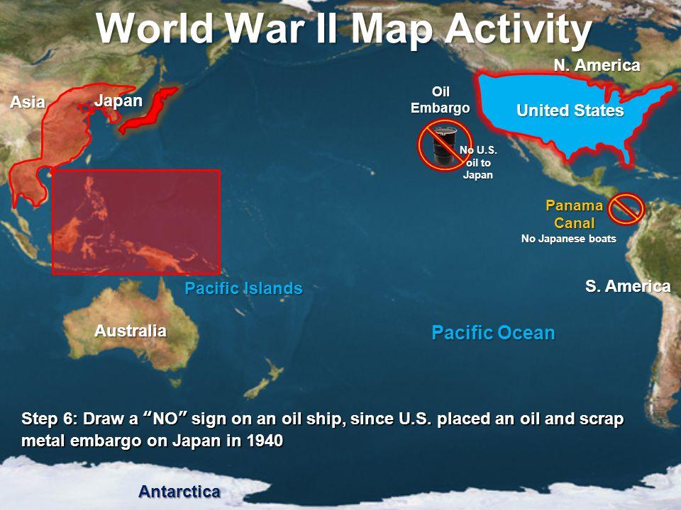 World War II Map Activity