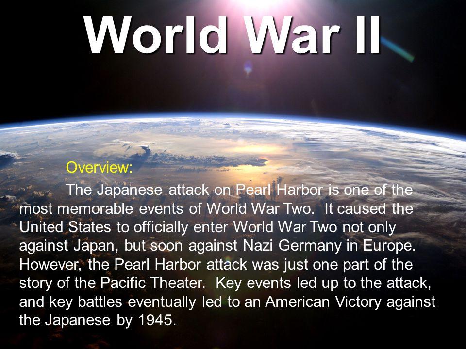 World War II Overview: