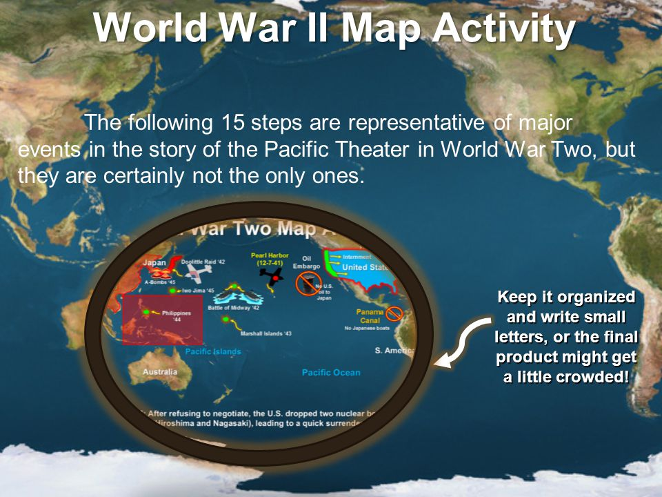 Mapping The Pacific Theater  ppt video online download