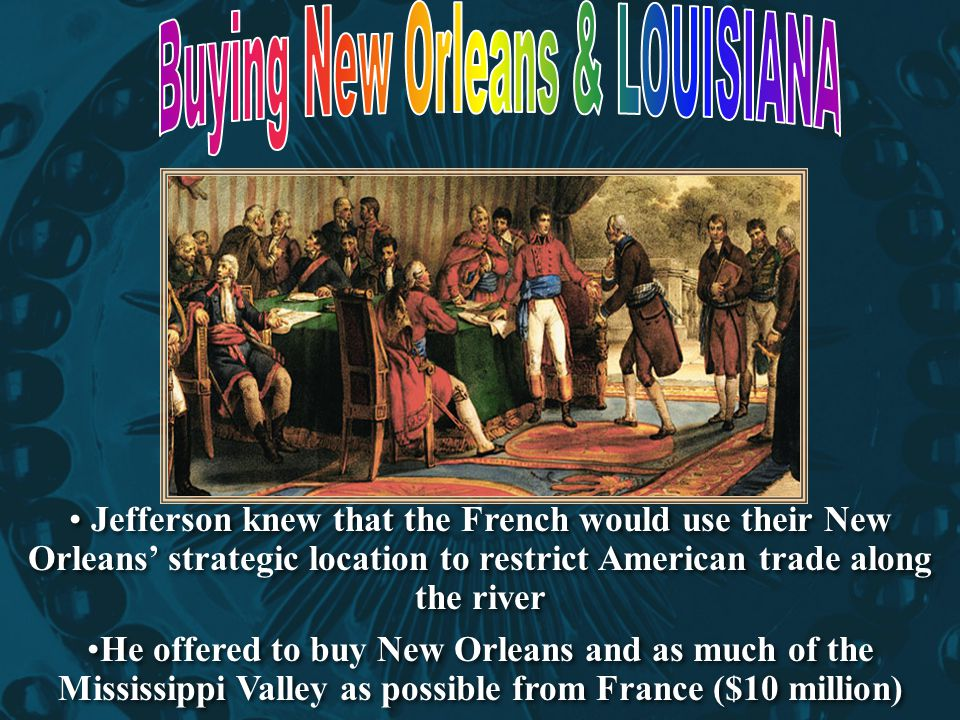 Buying New Orleans & LOUISIANA