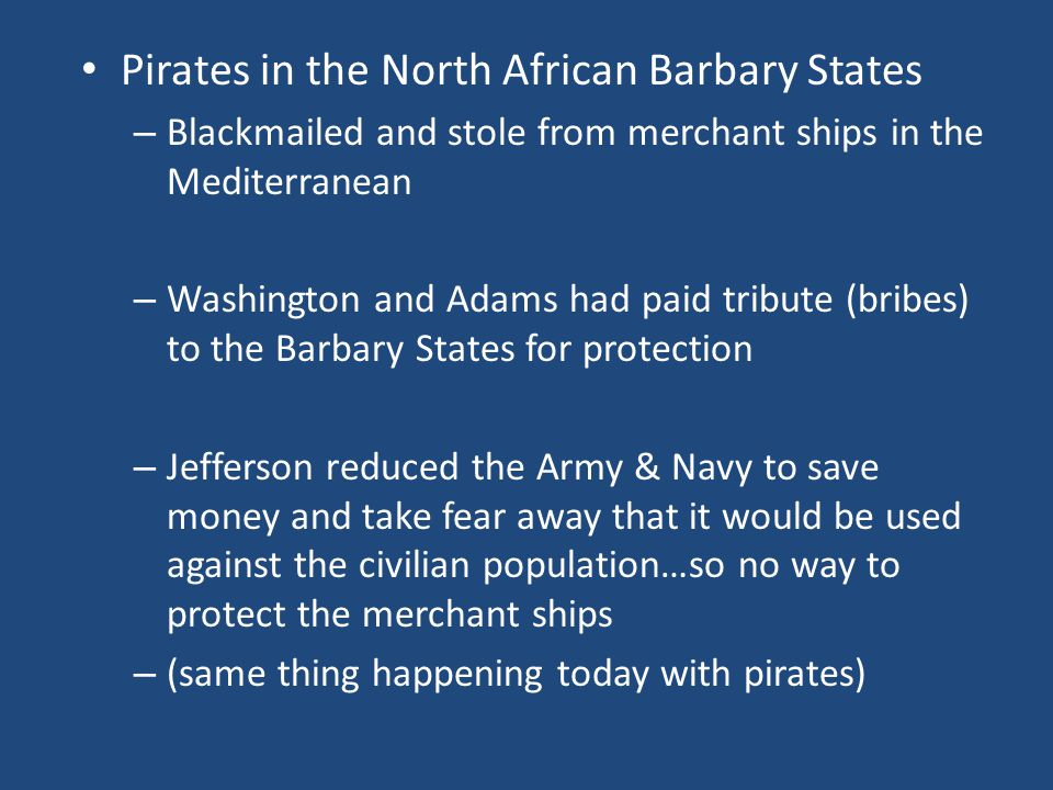 Pirates in the North African Barbary States