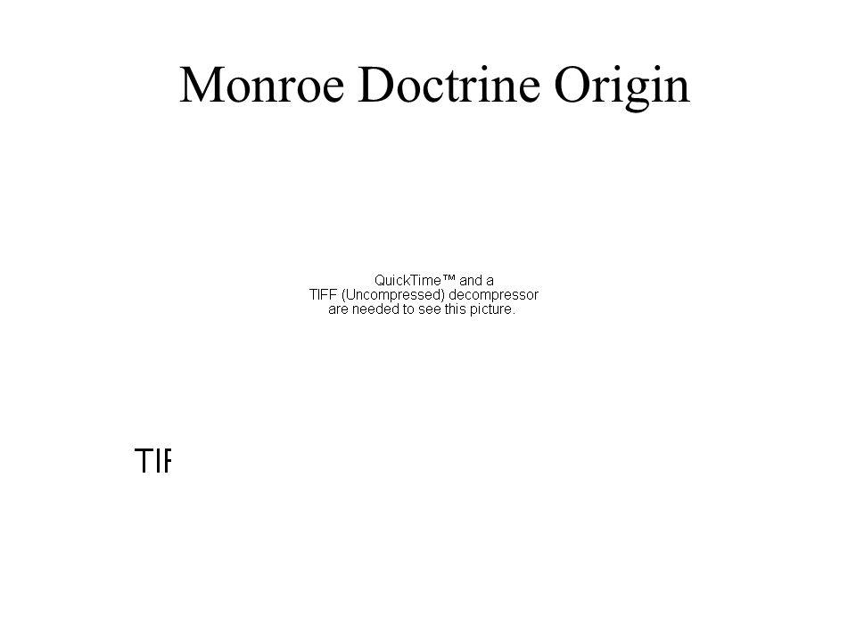 Monroe Doctrine Origin