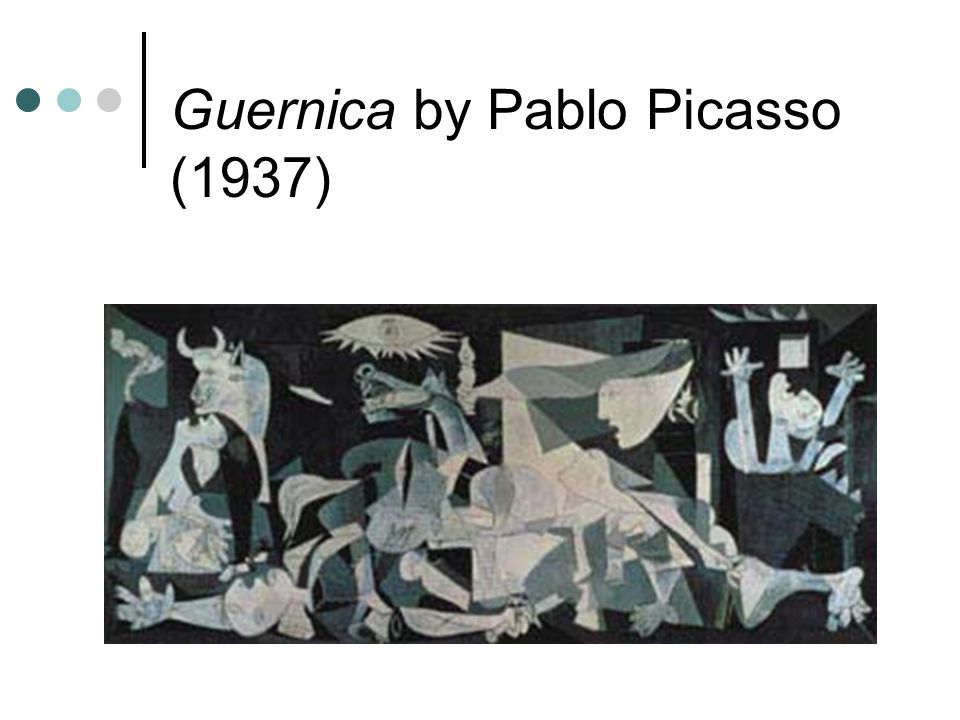 Guernica by Pablo Picasso (1937)