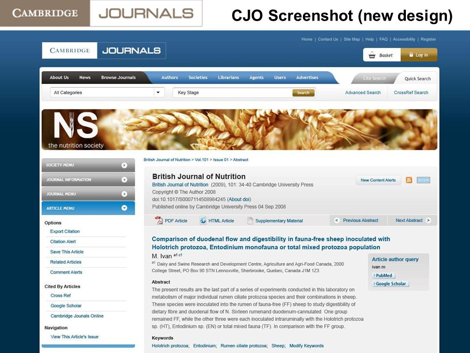 CJO Screenshot (new design)