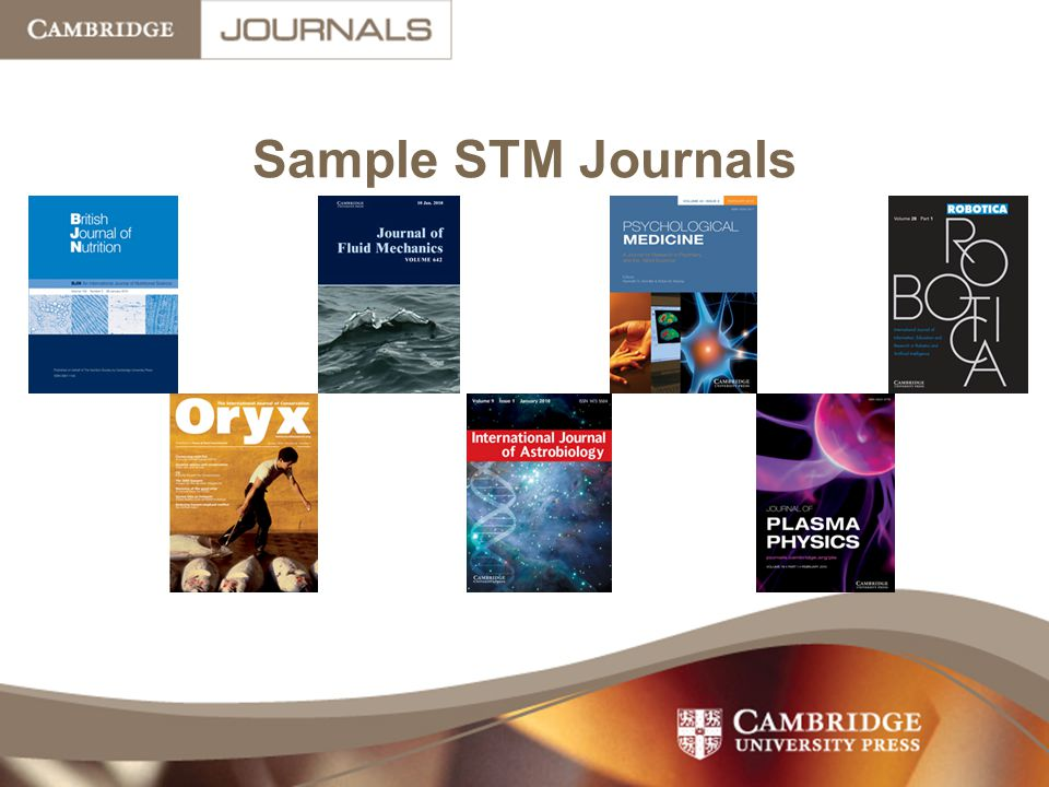 Sample STM Journals