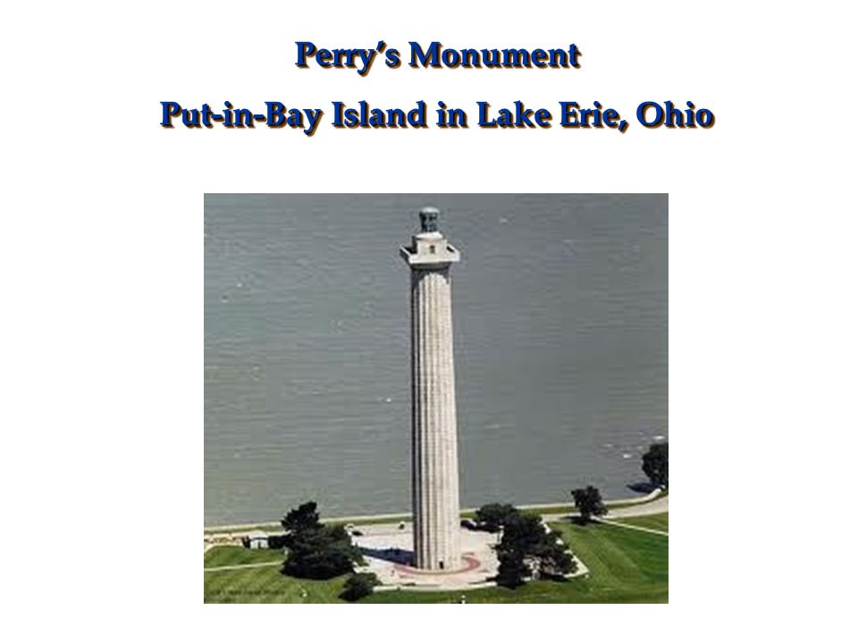 Put-in-Bay Island in Lake Erie, Ohio