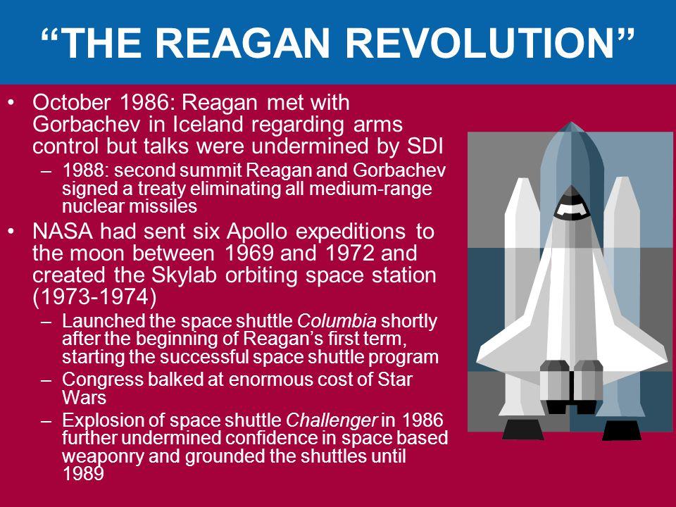 THE REAGAN REVOLUTION