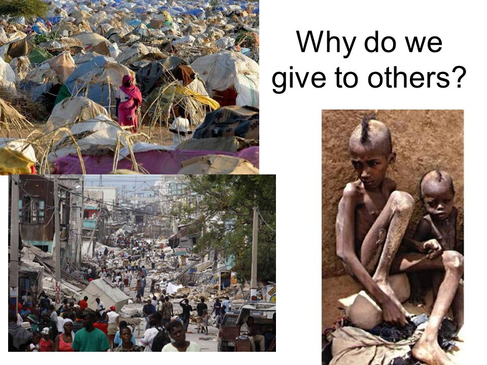 Why do we give to others