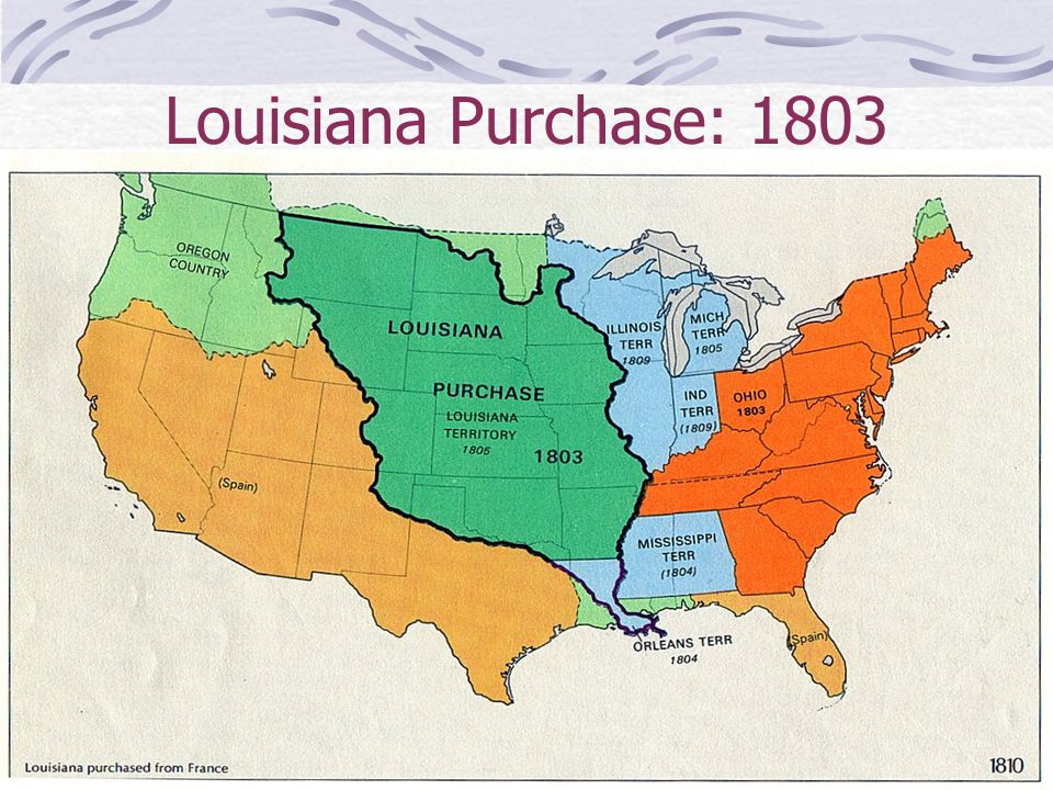 Louisiana Purchase: 1803
