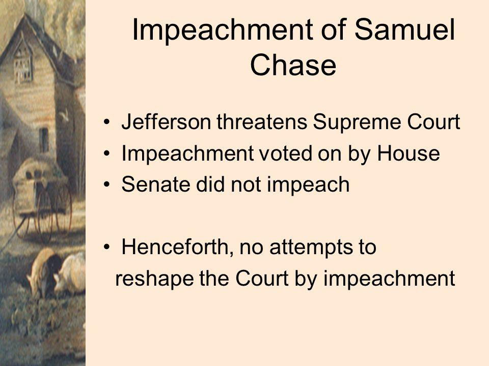 Impeachment of Samuel Chase