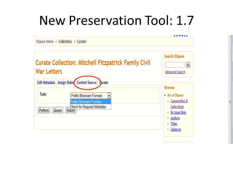 New Preservation Tool: 1.7