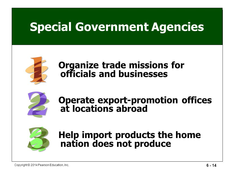 Special Government Agencies