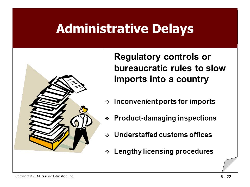 Administrative Delays