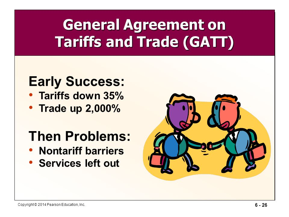 an overview of the general agreement on trade and tariffs in the world The wto and energy trade and sustainable energy series by yulia selivanova gatt general agreement on tariffs and trade gdp gross domestic product ghg greenhouse gas world trade institute in berne.