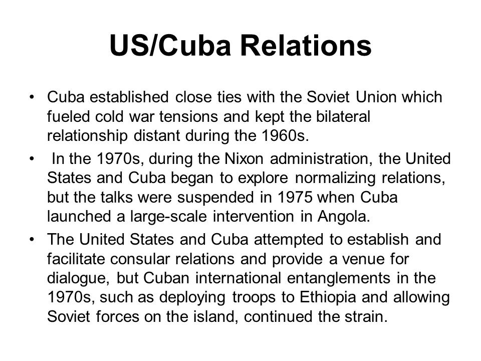 angola and cuba relationship
