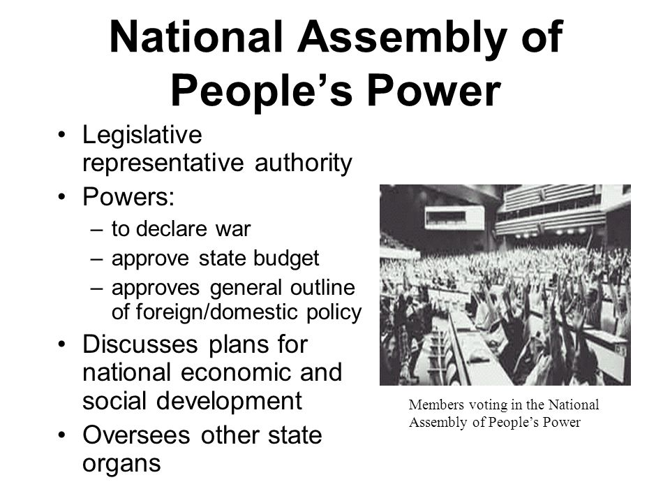 National Assembly of People's Power