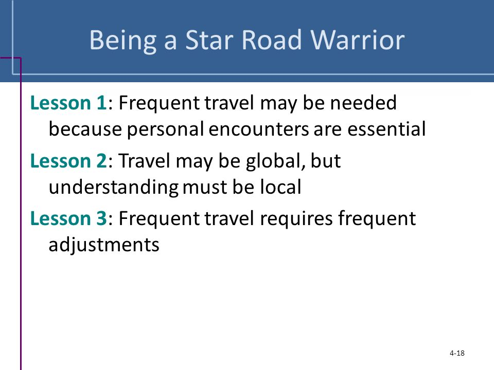Being a Star Road Warrior