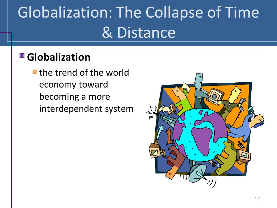 Globalization: The Collapse of Time & Distance