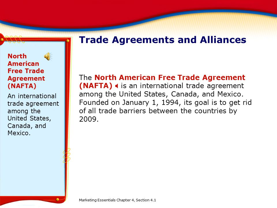 canada international trade agreements An act to implement the free trade agreement between canada and the  republic of colombia, the agreement on the environment between canada and  the.