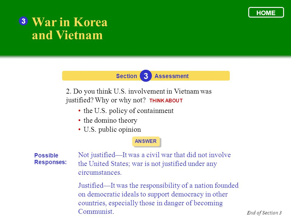 War in Korea and Vietnam 3 3