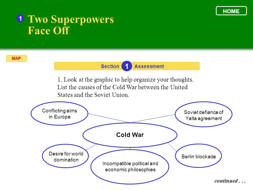 Two Superpowers Face Off 1 1
