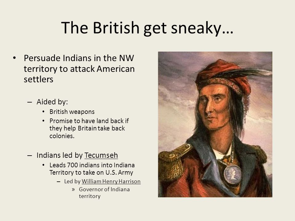 The British get sneaky…