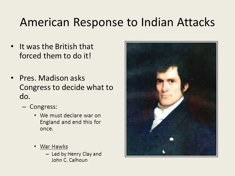 American Response to Indian Attacks