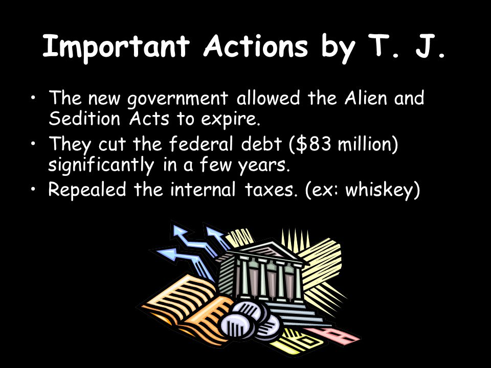 Important Actions by T. J.