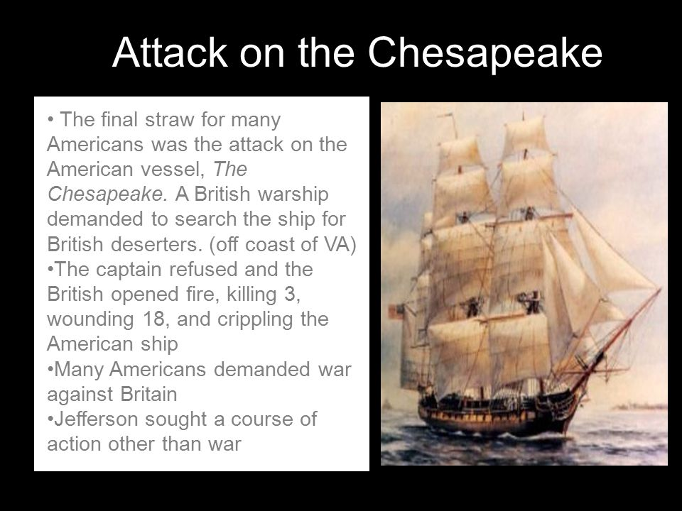 Attack on the Chesapeake