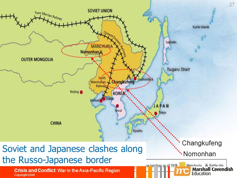 Soviet and Japanese clashes along the Russo-Japanese border