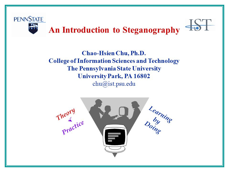 An Introduction to Steganography