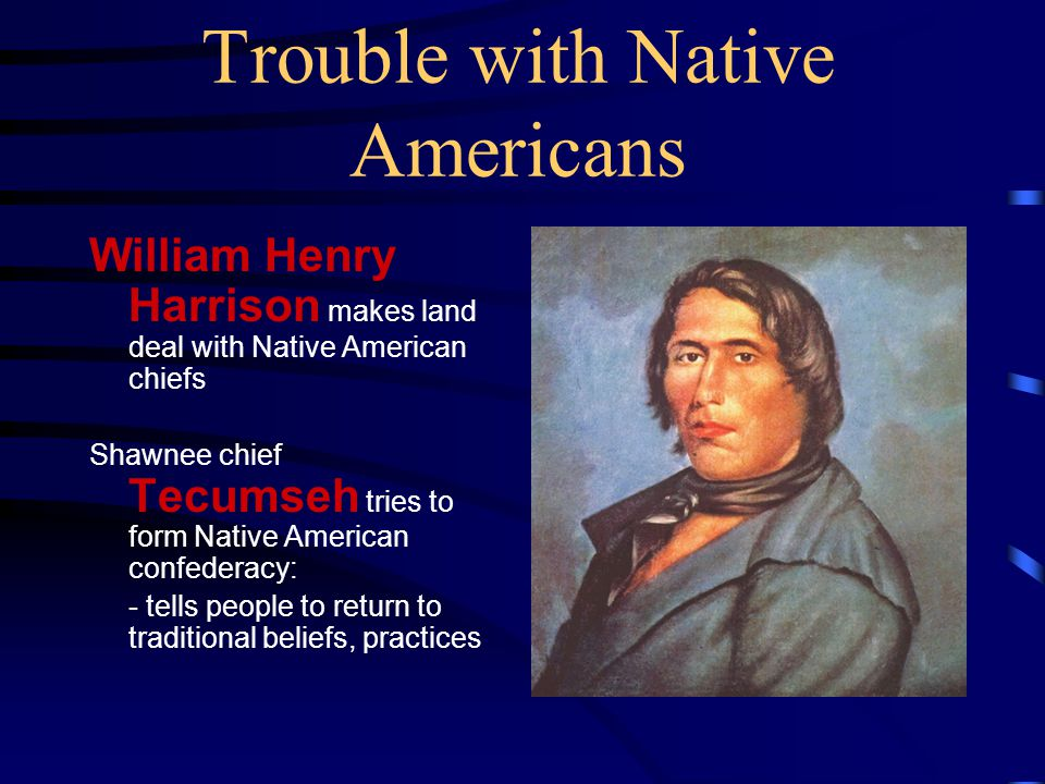 Trouble with Native Americans